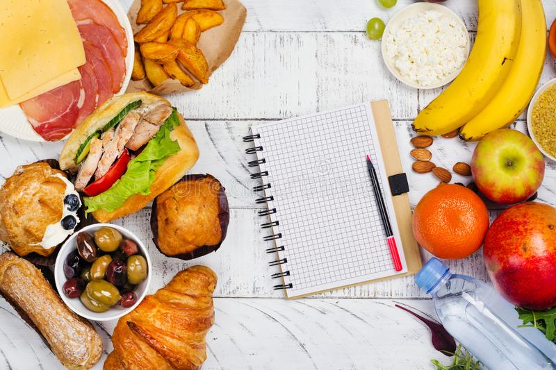 5:2 fasting diet concept stock photography