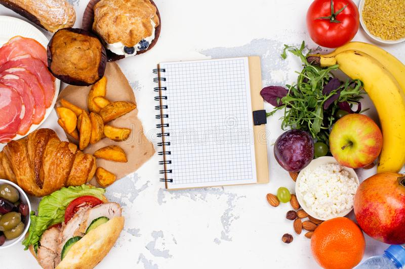 5:2 fasting diet concept stock photos