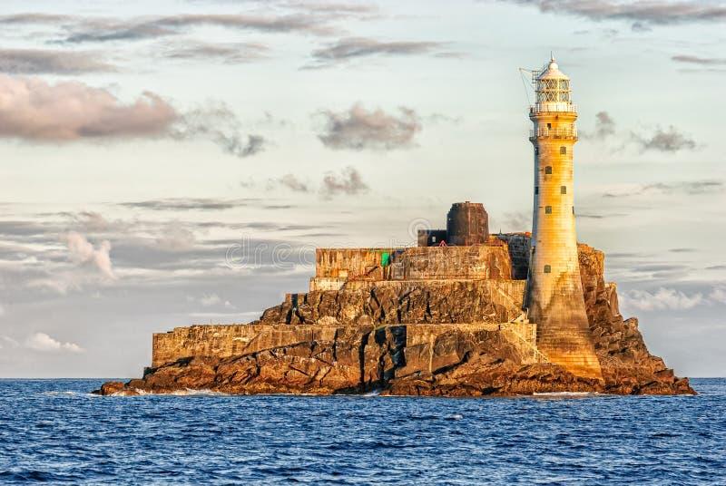 Fastnet灯塔,爱尔兰 免版税图库摄影