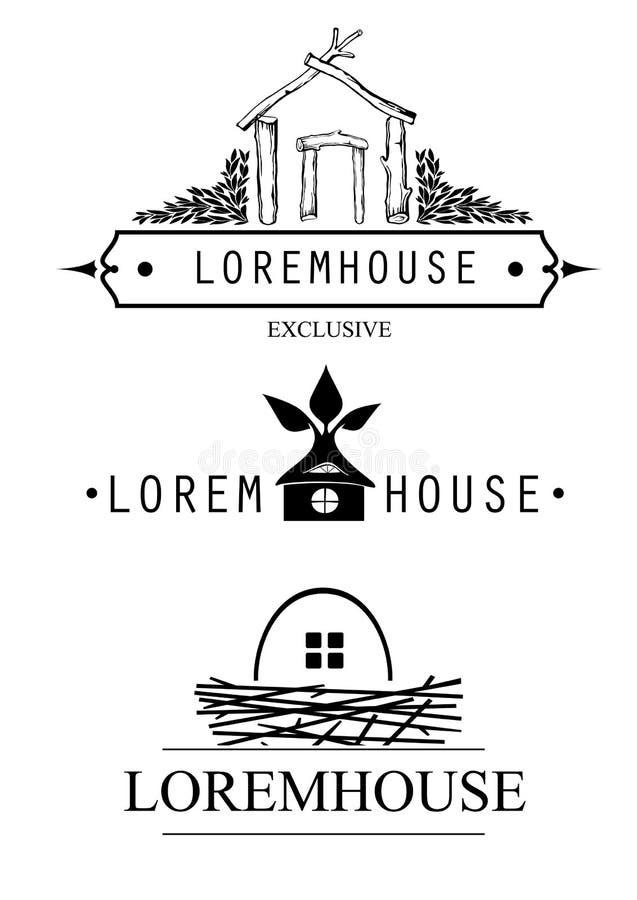 Fastställda företag för symbol royaltyfri illustrationer