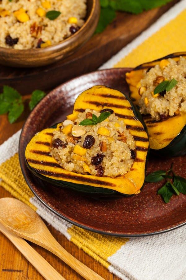 Faszerujący kabaczek z Quinoa zdjęcie stock