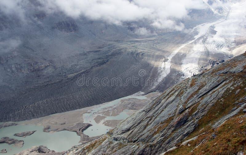 Faszinations-Gletscher stockfoto
