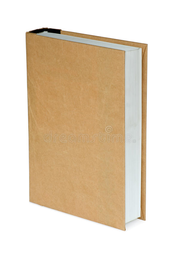 White Book Cover Paper ~ Fat book in paper cover stock photography image