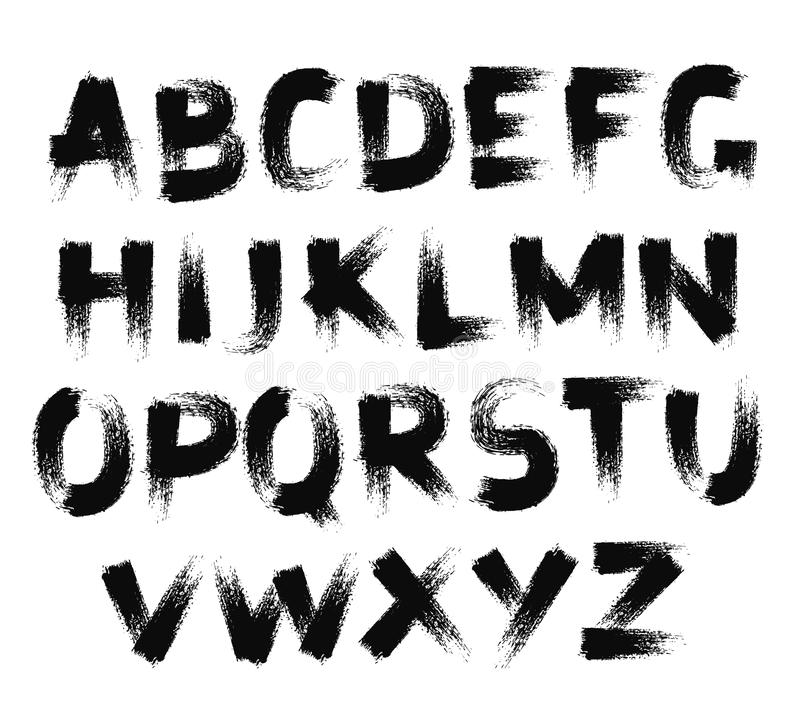 Graffiti Paint Brush Font