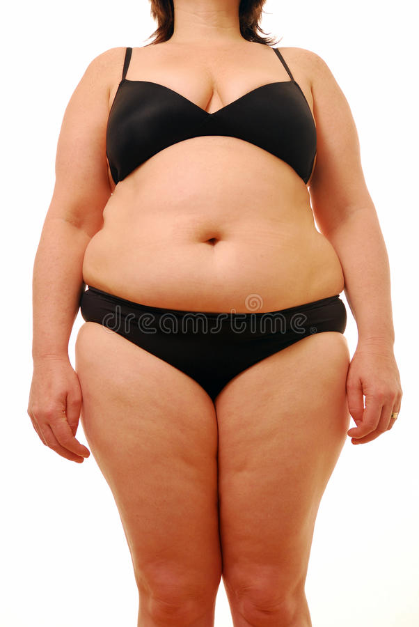 Download Fat lady stock photo. Image of isolated, slimming, plump - 13593878
