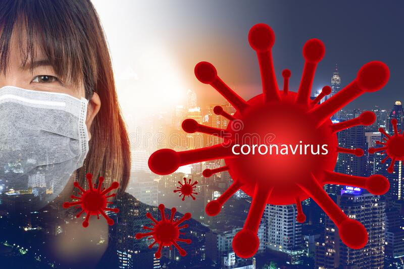 Fat people who are ill have complications living in the capital. There are many people at risk of severe coronavirus infection. Fat people who are sick There stock photo