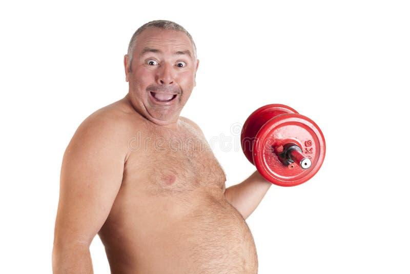 Fat Playing Stock Photo