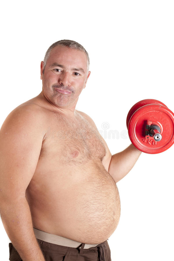 Download Fat playing sports stock image. Image of diet, obese - 27664357