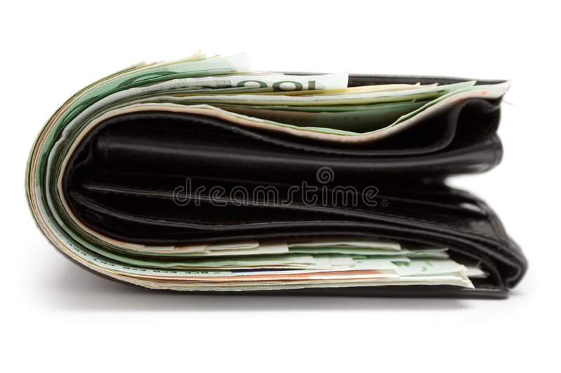 Fat Purse royalty free stock photo