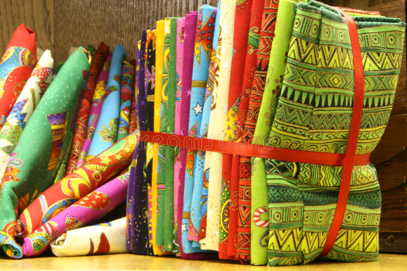 Download Fat Quilt Quarters stock image. Image of african, make - 5907691