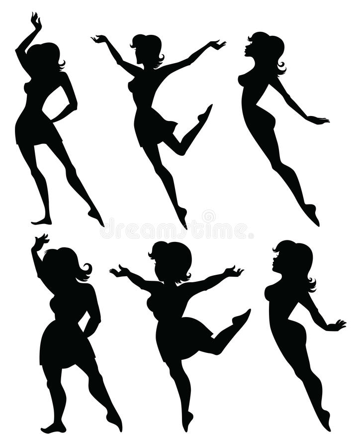 Download Fat and slim stock vector. Image of perfect, shadow, fitness - 22173945