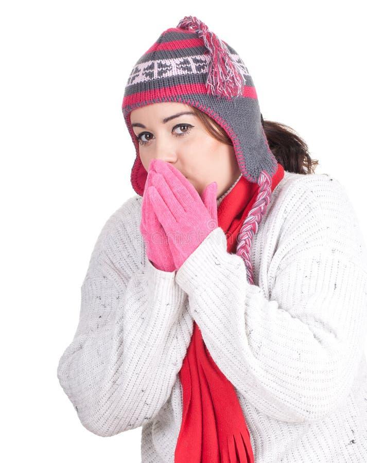 Download Fat winter girl stock photo. Image of diversity, girls - 20919488