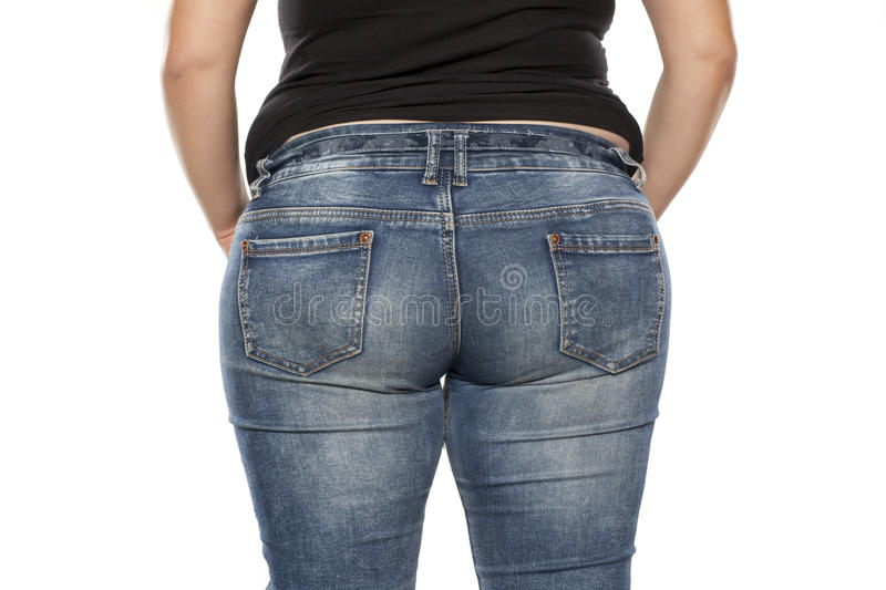 Fat woman stock images