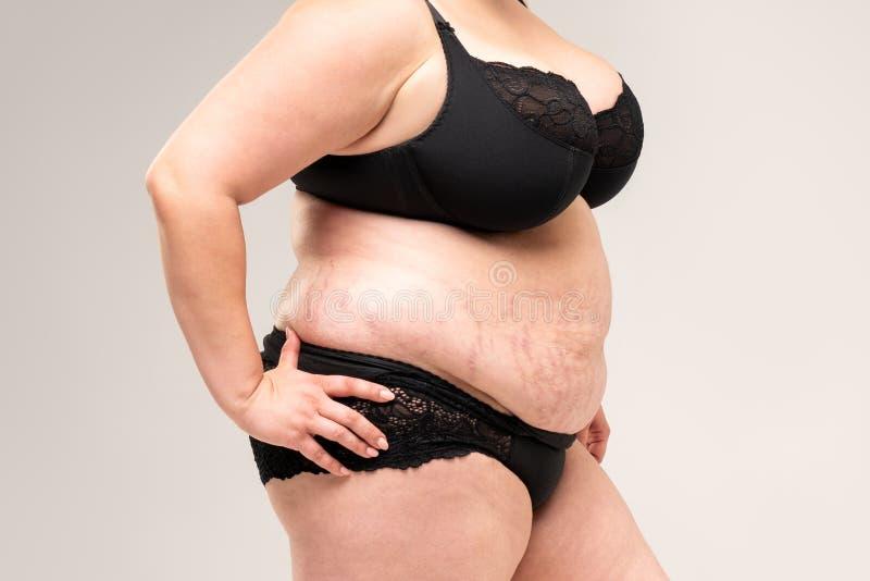Fat women in lingerie