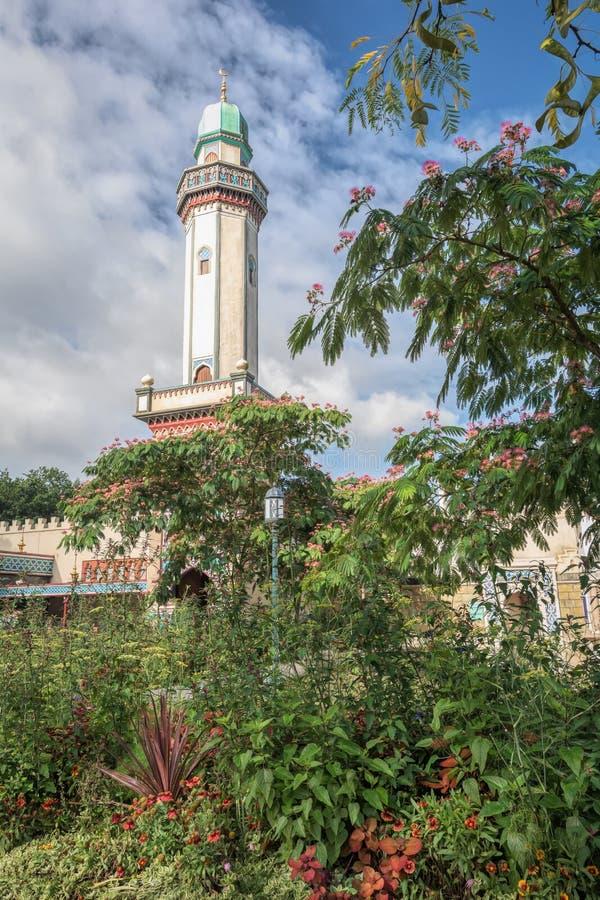 Fata Morgana est l'une des attractions au parc à thème Eftelin photos libres de droits