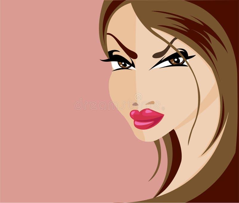 Fatale di Femme royalty illustrazione gratis