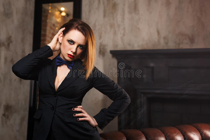 Fatale Femme стоковые изображения rf