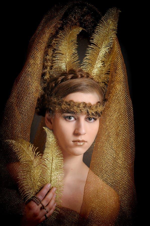 Fatato di principessa dell'oro immagini stock libere da diritti