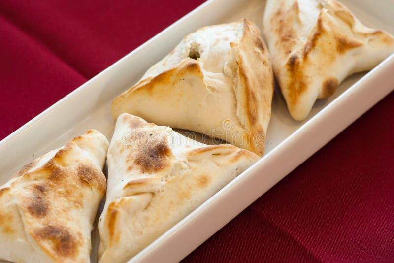 Fatayer, Libanees Voedsel. royalty-vrije stock foto
