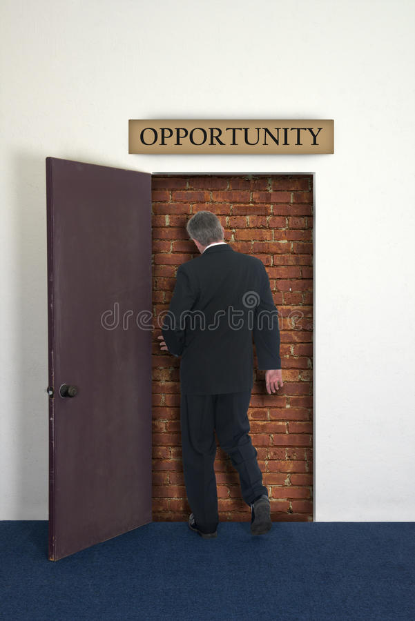 Dead End Career, Jobs, Business Stock Photo