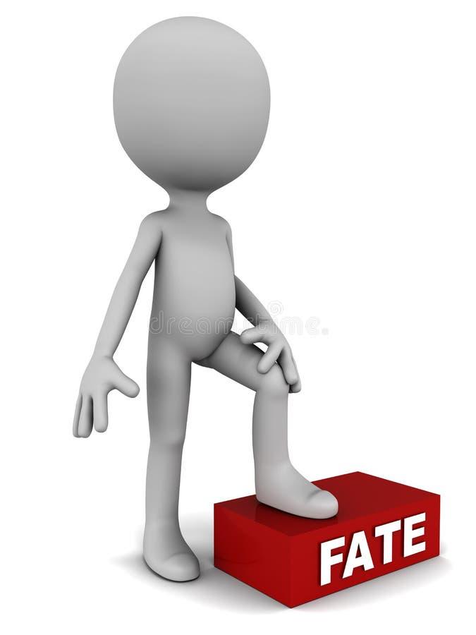 Download Fate under feet stock illustration. Image of kismet, karma - 31311139