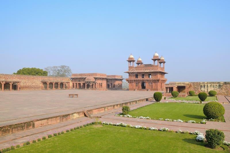 Fatehpur kompleks obrazy royalty free