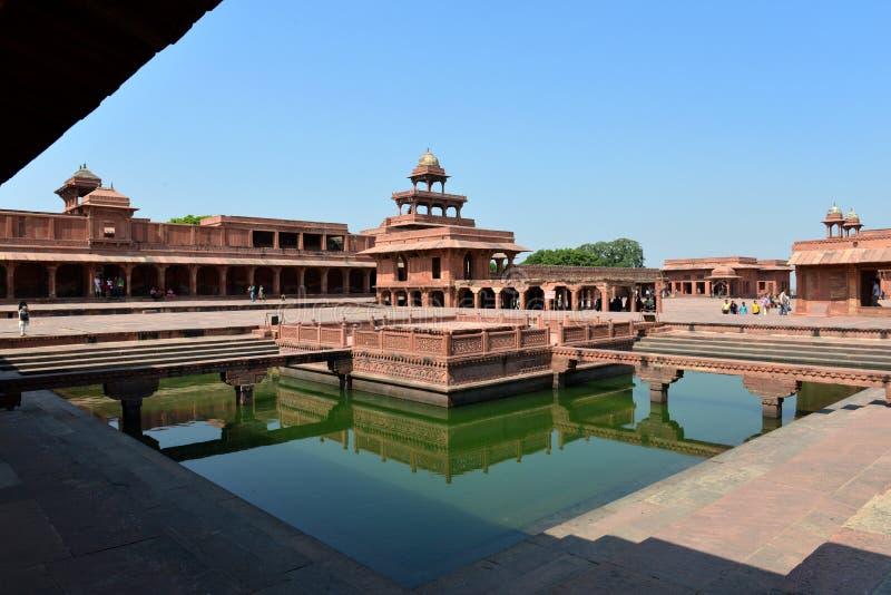 Fatehpur Sikri堡垒 免版税图库摄影