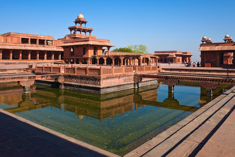 Fatehpur Sikri royalty-vrije stock afbeelding