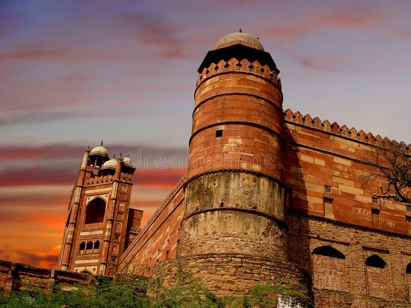 fatehpur sikri στοκ φωτογραφίες με δικαίωμα ελεύθερης χρήσης