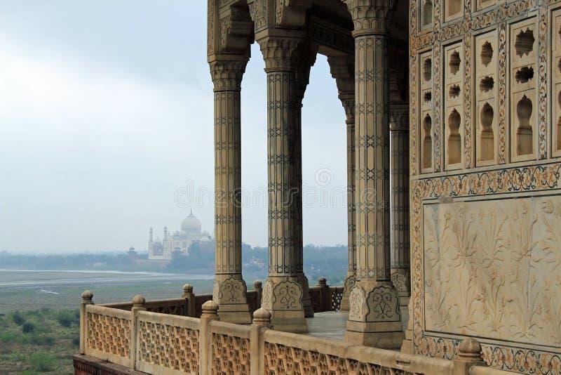 Fatehpur Sikri et Taj Mahal images libres de droits