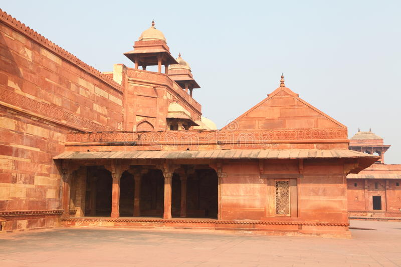 Fatehpur Sikri Fort lizenzfreie stockbilder