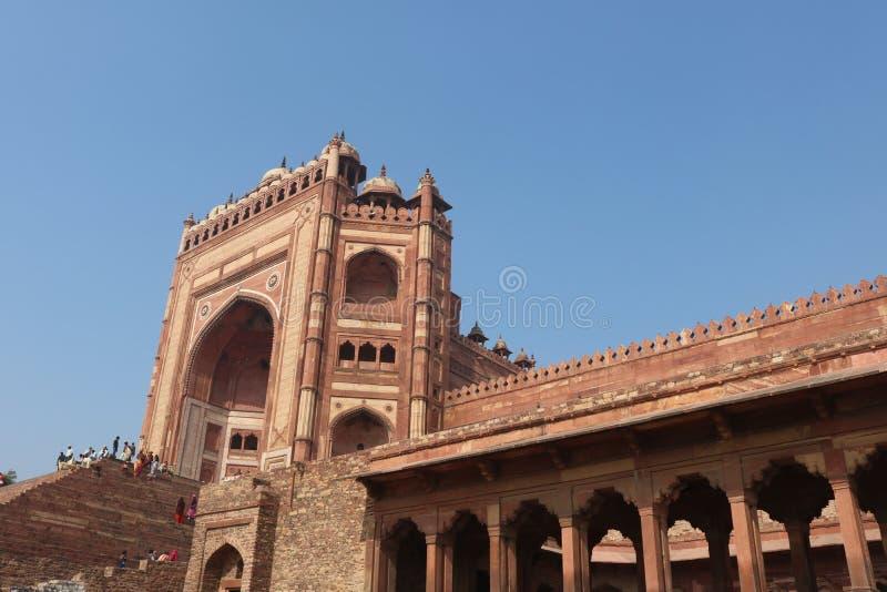 Fatehpur Sikri Gate Agra stockbilder