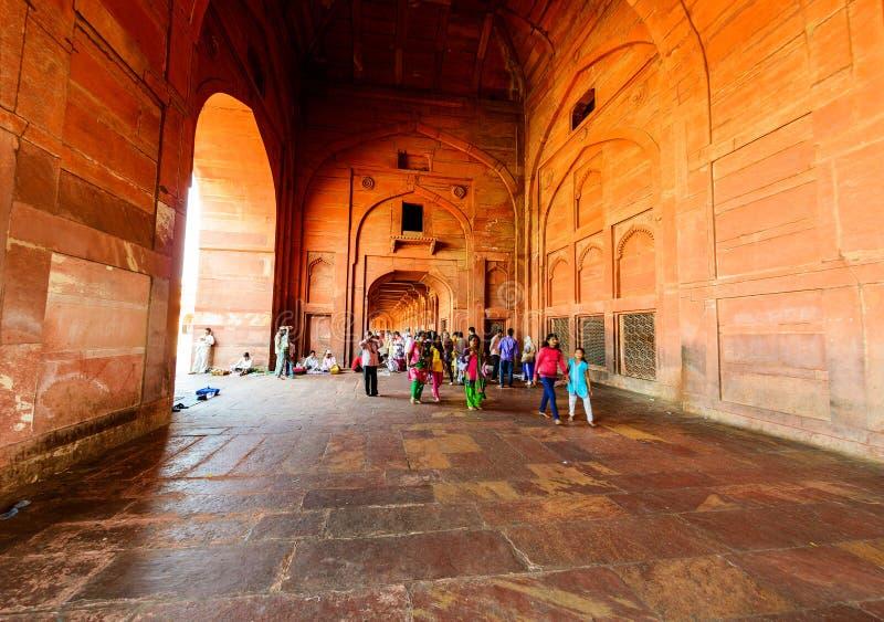 Fatehpur Sikri, India UNESCO dziedzictwo zdjęcia royalty free