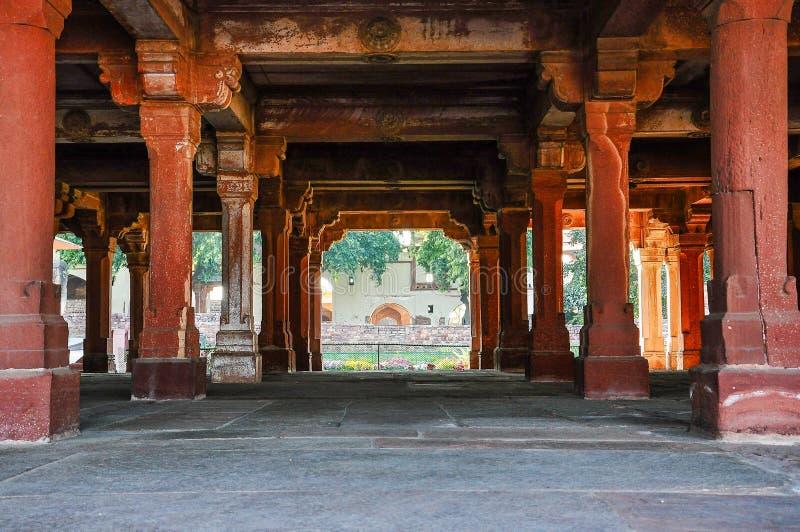 Fatehpur Sikri, la India, construida por el emperador Akbar de Mughal fotos de archivo