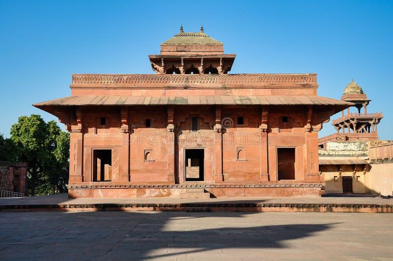 Fatehpur Sikri, la India, construida por el emperador Akbar de Mughal imagenes de archivo
