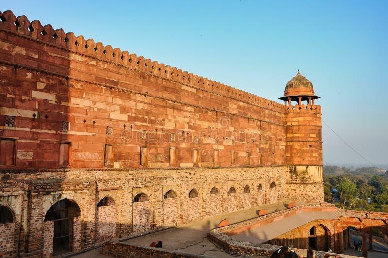 Fatehpur Sikri, la India, construida por el emperador Akbar de Mughal fotografía de archivo libre de regalías