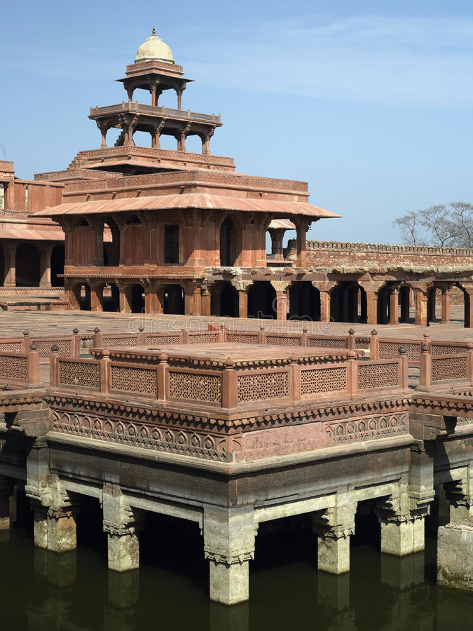 Fatehpur Sikri Near Agra In India. Royalty Free Stock Image