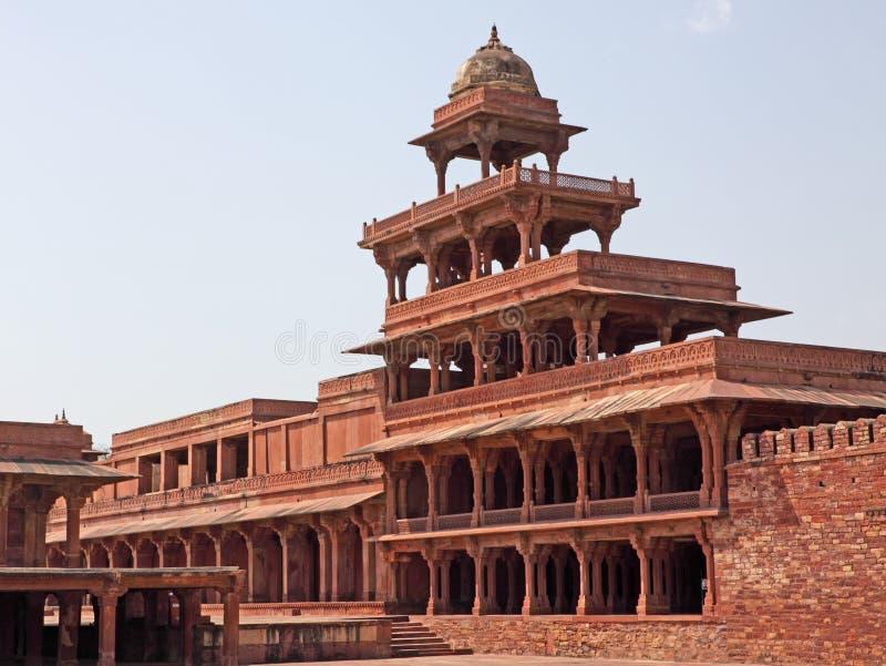 Fatehpur Sikri, Ragiastan immagine stock