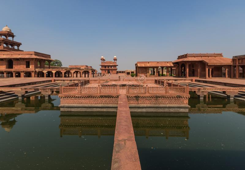 The Unesco World Heritage of Fatehpur Sikri, India stock photos