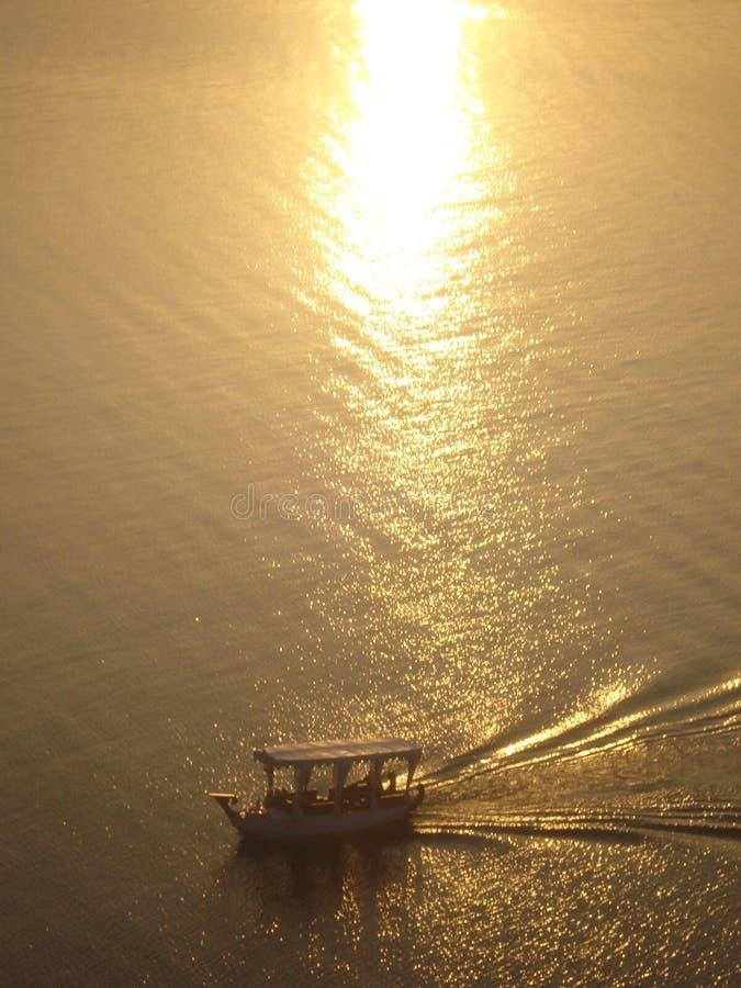 Fatehsagar jezioro zdjęcie stock