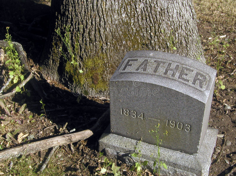 Download Father stock photo. Image of history, burial, marker, death - 9200