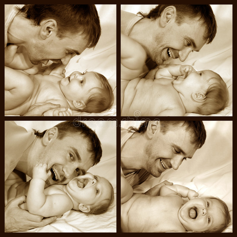 Free Father And Baby Royalty Free Stock Photo - 2354745