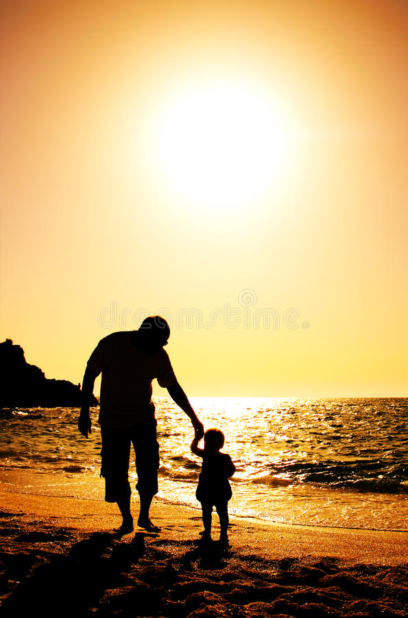Free Father And Daughter Stock Images - 24555314