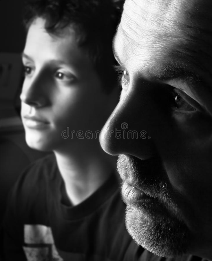 Free Father And Son Royalty Free Stock Image - 19006986
