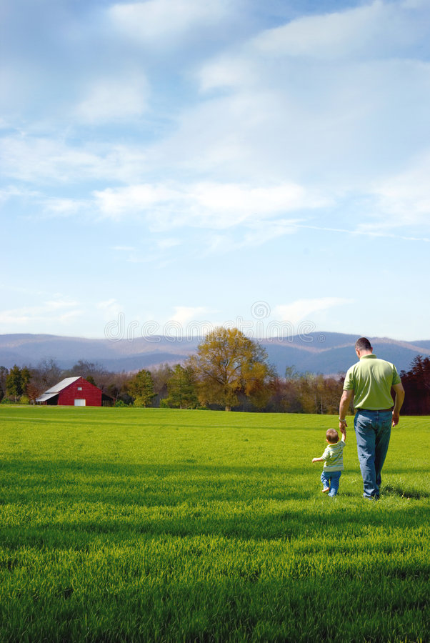 Free Father And Son Royalty Free Stock Image - 9253596