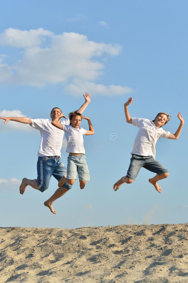 Download Father and boys stock image. Image of junior, background - 40193961
