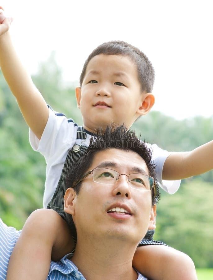 Father & Child Stock Photo