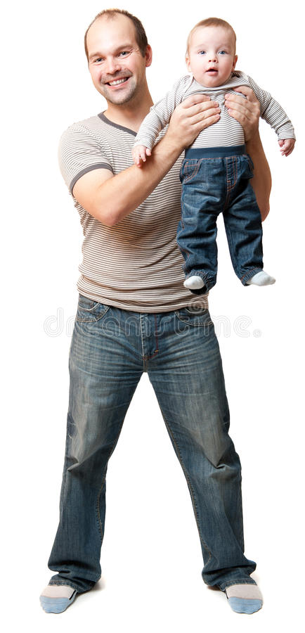 Download Father and child stock image. Image of adorable, play - 22438081