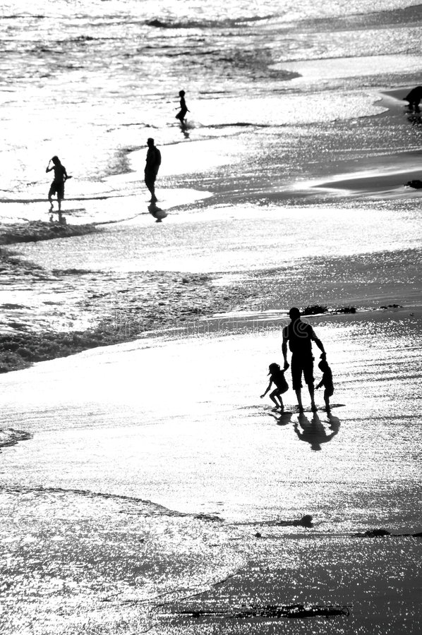 Father And Children Royalty Free Stock Photography