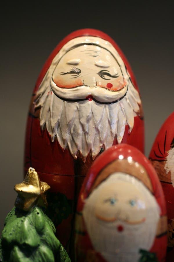 Father Christmas Ornaments stock photos